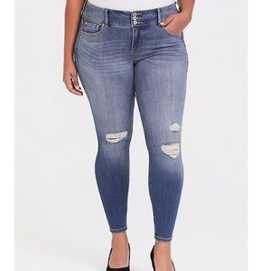 Torrid Distressed Jeans